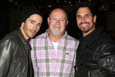 Brandon Beemer, Ed Scott, Don Diamont — Foto Stock