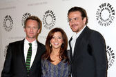 Neil Patrick Harris, Alyson Hannigan, Jason Segel — Stock Photo