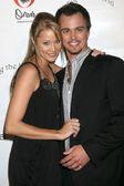 Kristen Renton and Darin Brooks — Stock Photo