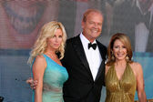 Kelsey Grammer & wife — Stock Photo