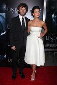 Michael Sheen and Rhona Mitra — Stock Photo