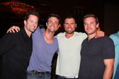 Michael Muhney, Daniel Goddard, Joshua Morrow, Billy Miller — Stockfoto