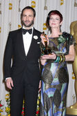 Presenter Tom Ford and costume designer Sandy Powell — Stock Photo