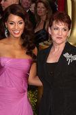 Alicia Keys & Mom — Stock Photo