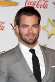 Chris Pine — Foto de Stock