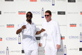 Sean Combs & Scott Case — Stock Photo