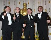 Joe Letteri, Stephen Rosenbaum, Richard Baneham and Andrew Jones — Stock Photo