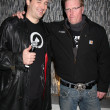Phil Hellmuth Jr & Jake Busey - Foto de Stock