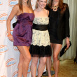 Edyta Sliwinska , Melissa Joan Hart, & Natalie Coughlin — Stock Photo