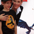 Stock Photo: Kim Raver & Son Luke