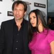David Duchovny, Demi Moore — Stock Photo