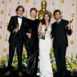Daniel Day Lewis, Tilda Swinton, Marion Cotillard, and Javier Ba — Stockfoto