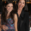 Daughter Lucy Julia Rogers-Ciaffa, Mimi Rogers — Stock Photo