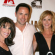 Kate Linder, Rebecca Staab & William deVry — Stock Photo