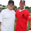 Pete Rose and James Denton — Stock Photo #13118402