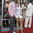 Stock Photo: Derek Luke & wife