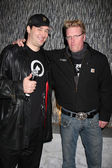 Phil Hellmuth Jr & Jake Busey — Stock Photo
