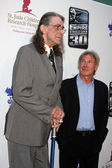 Peter Mayhew & Harrison Ford — Stock Photo