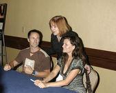 William deVry, Heather Tom, fans — Stock Photo