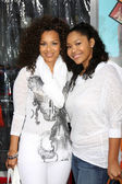 LisaRaye McCoy & Daughter Kai — Stock Photo
