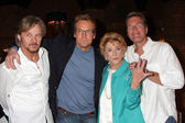 Stephen Nichols, Doug Davidson, Jeanne Cooper, Peter Bergman — Stock Photo