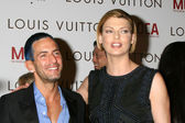 Marc Jacobs & Linda Evangelista — Stock Photo