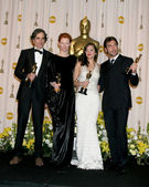 Daniel Day Lewis, Tilda Swinton, Marion Cotillard, and Javier Ba — Stock Photo