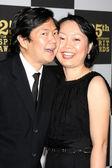 Ken Jeong and wife Tran Ho — Stock Photo