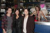 Josh Heine (Cupid), Jo Bozarth (Eros), Bradford Anderson (Achilles) — Stock Photo