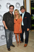 Dan Povenmire, Ashley Tisdale, Jeff Marsh — Stockfoto