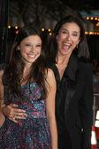 Daughter Lucy Julia Rogers-Ciaffa, Mimi Rogers — Stock Photo