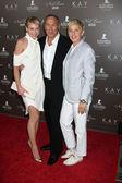 Portia DeRossi, Neil Lane & Ellen DeGeneres — Stock Photo
