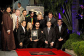 Diane Watson, Tom LaBonge, Ben Harper, Antonio Villaraigosa, Don Was, Barbara Bach, Ringo Starr, Joe Walsh, Bill Farrar, Leron Gubler and Eric Garcetti — Stockfoto
