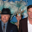 Michael Chiklis, Dennis Quaid — Stock Photo