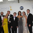 Homeland Cast including: Mandy Patinkin, Claire Danes, Damian Lewis, Morena Baccarin - Stock Photo