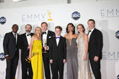 Homeland Cast including: Mandy Patinkin, Claire Danes, Damian Lewis, Morena Baccarin — Stock Photo