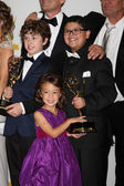 Nolan Gould, Aubrey Anderson-Emmons, Rico Rodriguez — Stock Photo