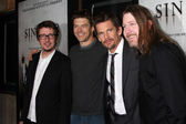 Scott Derrickson, Producer Jason Blum, Ethan Hawke, C. Robert Cargill — Stock Photo