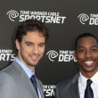Pau Gasol, Dwight Howard — Stock Photo