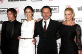 Norman Reedus, Sarah Wayne Callies, Andrew Lincoln, Laurie Holden — Stock Photo