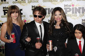 Paris Jackson, Prince Michael Jackson, LaToya Jackson, Blanket Jackson — Stock Photo