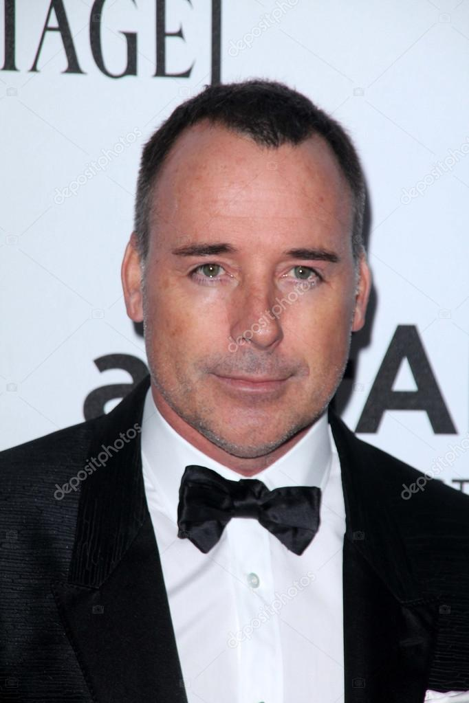 LOS ANGELES - OCT 11:  David Furnish arrives at the amfAR Inspiration Gala Los Angeles at Milk Studios on October 11, 2012 in Los Angeles, CA  Stock Photo #13667843