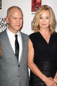 Ryan Murphy, Jessica Lange — Stock Photo