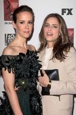 Sarah Paulson, Amanda Peet — Stock Photo