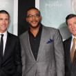 Matthew Fox, Tyler Perry, Edward Burns — Stockfoto