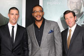 Matthew Fox, Tyler Perry, Edward Burns — Stock Photo