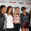 Stock Photo: Singers Rochelle Wiseman, UnHealy, Mollie King, Frankie Sandford and VanessWhite