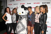 Singers Una Healy, Vanessa White, Frankie Sandford, Mollie King and Rochelle Wiseman — Stock Photo