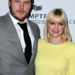 Chris Pratt, Anna Faris — Stock Photo