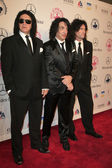 Gene Simmons, Paul Stanley, Tommy Thayer — Stock Photo